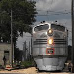 Photographer: Christopher Locke  Photo taken: Illinois Railway Museum in Union, IL.  Photo of: 9911A Silver Pilot