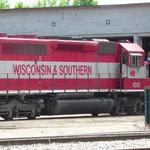 Photographer: Christopher Locke  Photo Taken: Janesville, WI  Photo of: Wisconsin & Southern #4003 at Roundhouse